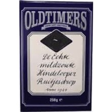 Old Timers Hindelooper Mild Salt Diamond Licorice - 7.9 Oz