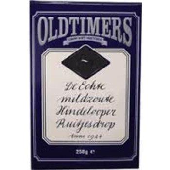 Old Timers Hindelooper Mild Salt Diamond Licorice - 7.9 Oz