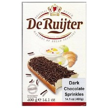 De Ruijter Dark Chocolate Sprinkles Hagelslag -14 oz