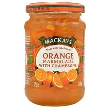Mackays Orange Marmalade With Champagne - 12OZ