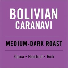 Higher Grounds HG Bolivian Medium darkroast 12 oz Whole Beans