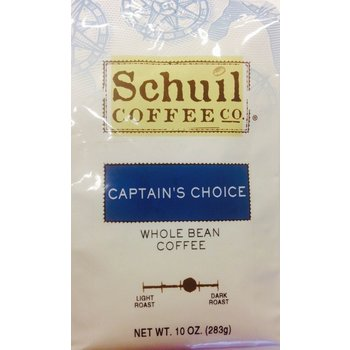 Schuil Captains Choice Dark Roast 10 oz Coffee