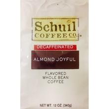Schuil Almond Joyful Flavored Coffee 12oz Decaf