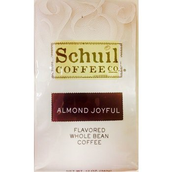 Schuil Almond Joyful Flavored Coffee 12oz Whole Bean