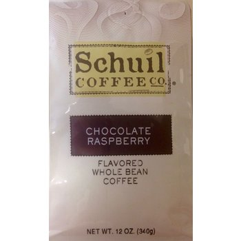 Schuil Chocolate Raspberry Flavored Coffee 12oz