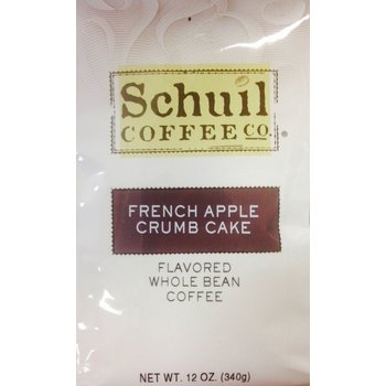Schuil French Apple Crumb Cake Coffee 12oz