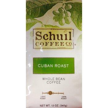 Schuil Cuban Dark Roast  Coffee 10oz whole bean