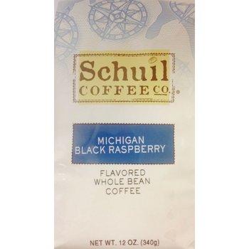 Schuil Michigan Black Raspberry Flavored Coffee 12 oz