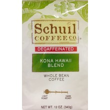 Schuil Kona Hawaii Medium Blend Coffee12oz Decaf