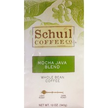 Schuil Mocha Java Blend Coffee 12oz whole bean