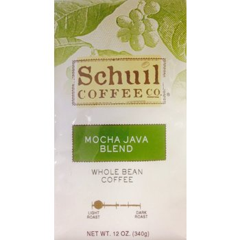 Schuil Mocha Java Blend Coffee 12oz whole bean