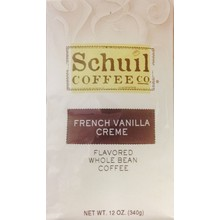 Schuil French Vanilla Creme Dark Roast Coffee12oz