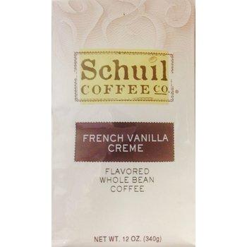 Schuil French Vanilla Creme Dark Roast Coffee12oz