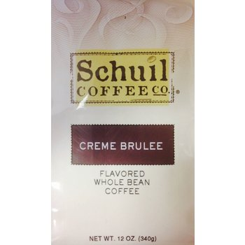 Schuil Creme Brulee Flavored Coffee 12oz