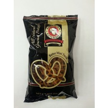American Gourmet Butter Mini Twist Pretzel 8 oz Pillow bag