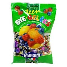 Mangini Bye Gelees Assorted Fruit Gels - 5.3 oz