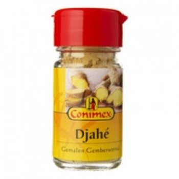 Conimex Djahe Ground Ginger Root .7 Oz Jar.