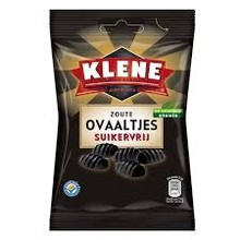 Klene Sugar Free Salty Ovals 3.5 oz bag