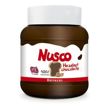 Nusco Hazelnut Spread 14 oz jar reg $4.29