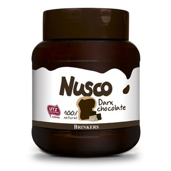 Nusco Dark Chocolate spread 14 oz jar