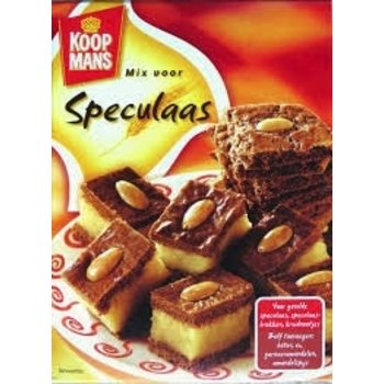 Koopmans Mix for filled Speculaas 14.1 oz box
