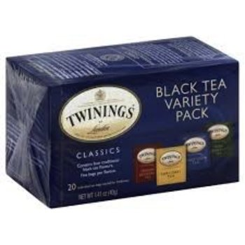 Twinings Variety Pack Tea - 20 Individual tea bags