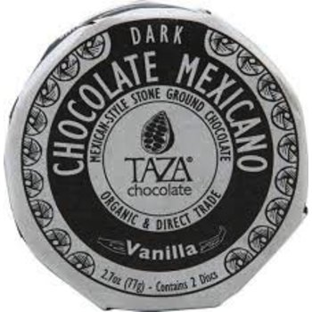 Taza Chocolate Vanilla Chocolate Disc - 2.7 Oz disc