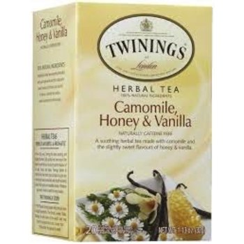 Twinings Camomil Honey Vanila - 20 Individual tea bags