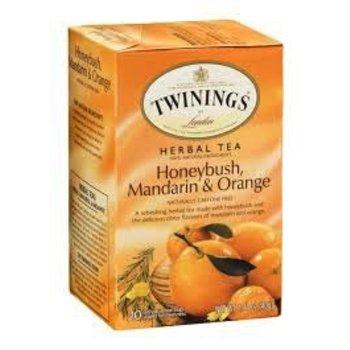 Twinings Honeybush Mandarin & Orange Tea - 20 Individual tea bags
