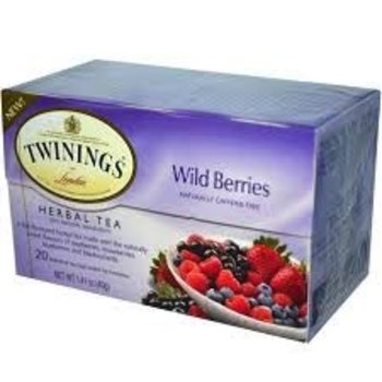 Twinings Wild Berries Tea - 20 Individual tea bags