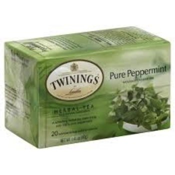 Twinings Pure Peppermint Tea - 20 Individual tea bags
