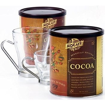 Mocafe Mexican Spiced Ground Chocolate - 12 OZ Cannister
