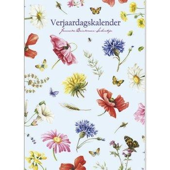 JBS Wild Flowers Birthday Calendar 11.5x8 Reg $16.95