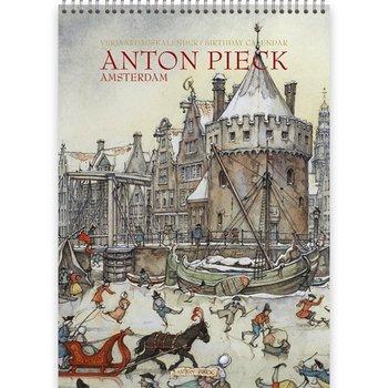 Anton Pieck Amsterdam Birthday calendar 8.2 x 11.5