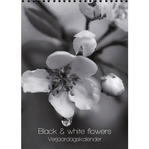Black white flowers birthday calendar 7x98 peters gourmet market black white flowers birthday calendar 7x98 mightylinksfo