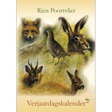 Rien Poortvliet Nature Birthday Calendar 11.5x8 Reg $16.95