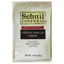 Schuil French Vanilla Dark Roast Coffee 12oz Decaf