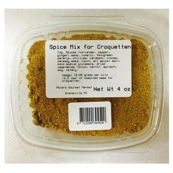 Verstegen Kroket Spices - 4 oz tub