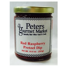 Peters Raspberry Pretzel Dip - 10 oz Jar