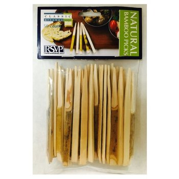 Bamboo Picks 3.5inch 50 ct