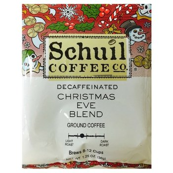 Schuil Decaf Christmas Eve Coffee Packet - 1.25 OZ