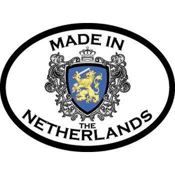 Innovative Ideas Inc Made in The Netherlands Car Sticker - EACH