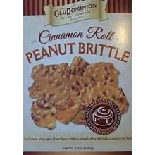 Old Dominion Cinnamon Roll Peanut Brittle box - 5.5 Oz
