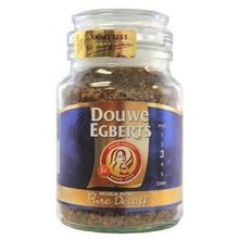 Douwe Egberts Pure Decaf Instant coffee 3.5 oz jar