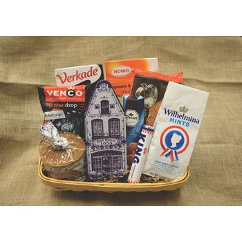 Gift Basket Dutch Favorites Gift Basket (some items my be different than pictured)