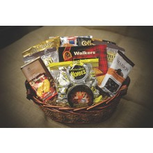 Gift Basket Coffee & Cookies Basket