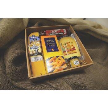 Gift Basket Sausage & Cheese gift box