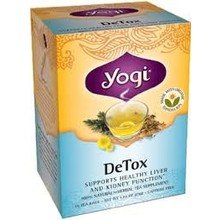 Yogi Teas Organic DeTox Tea - 16 CT