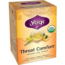 Yogi Teas Organic Throat Comfort - 16 CT