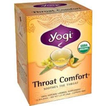 Yogi Teas Organic Throat Comfort - 16 CT